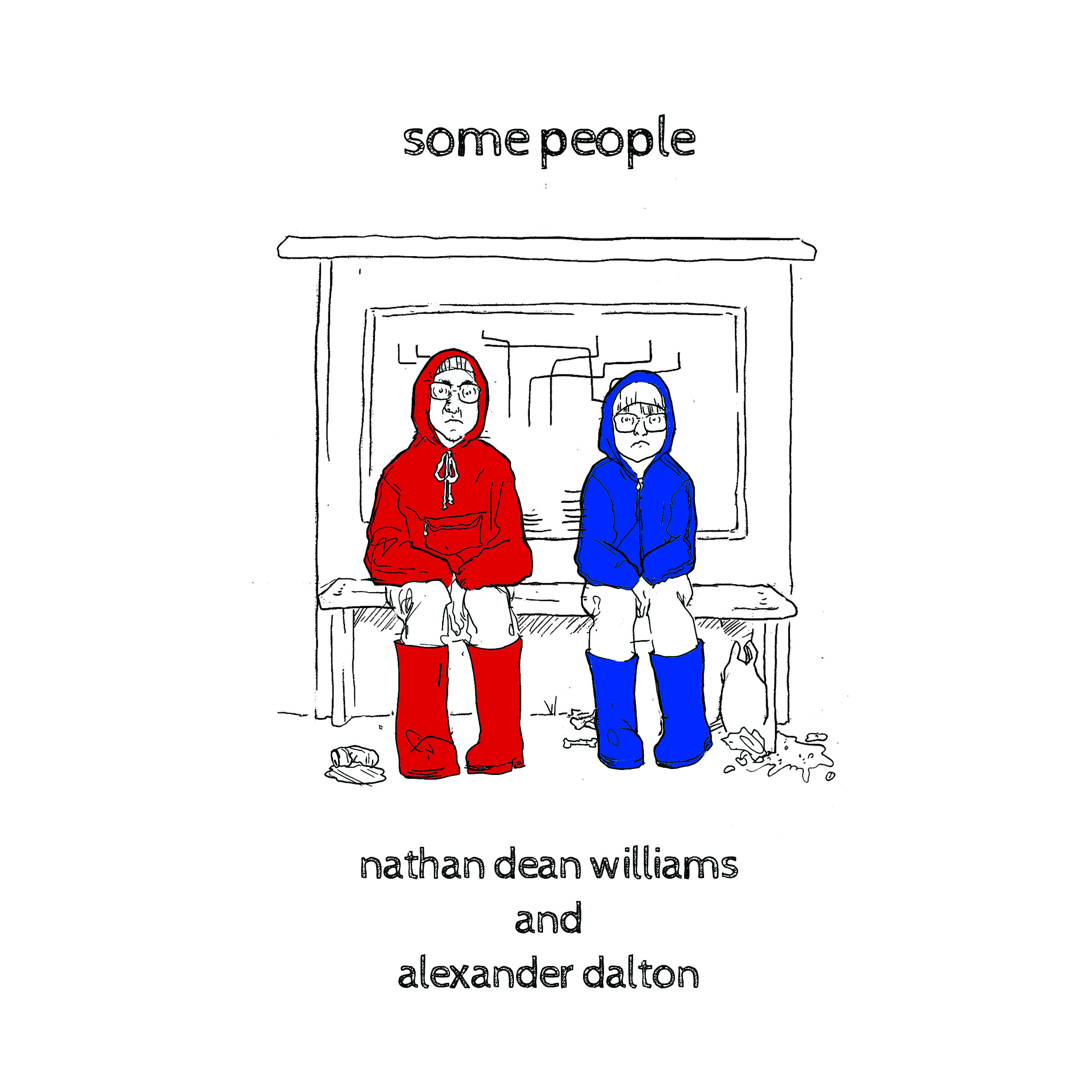 some people - a book by Nathan Dean Williams and Alexander Dalton AVAILABLE NOW