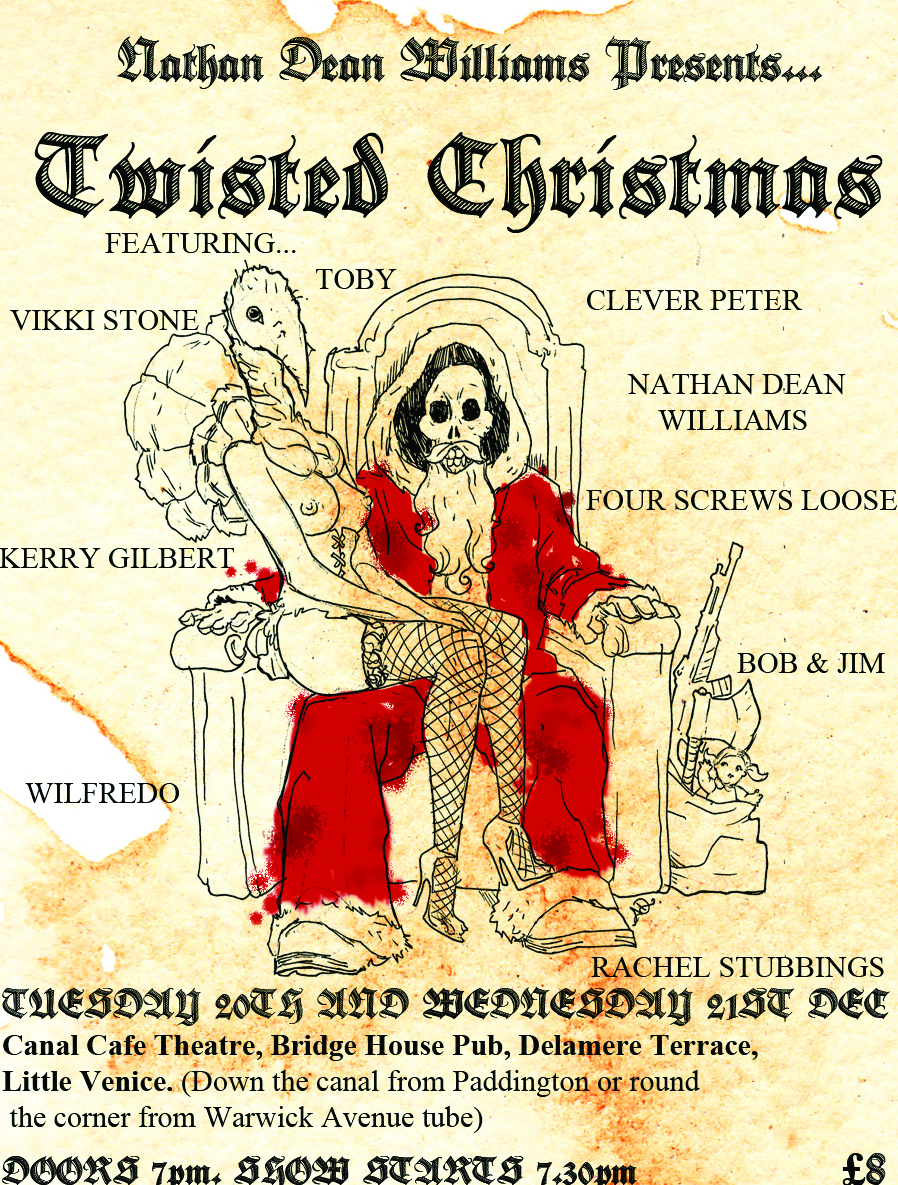 Twisted Christmasposter